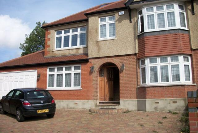 Thumbnail End terrace house to rent in The Fairway, Palmers Green