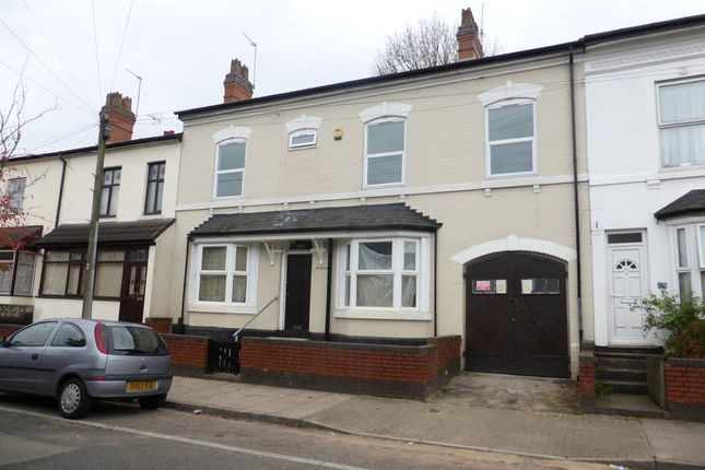Thumbnail Terraced house to rent in Newport Road, Moseley, Birmingham