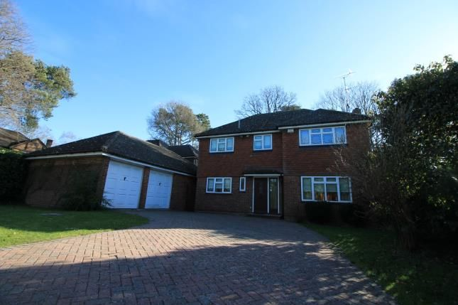 Thumbnail Detached house for sale in Frimley Green, Camberley, Surrey