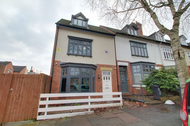 Thumbnail End terrace house to rent in Westcotes Drive, Leicester