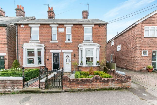 Thumbnail End terrace house for sale in Stanley Road, Halstead