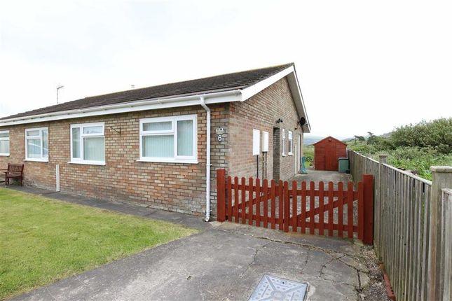 Thumbnail Semi-detached bungalow for sale in Bryngwyn Close, Borth