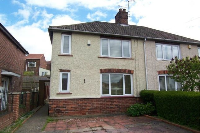 Thumbnail Semi-detached house to rent in Spring Road, Sutton In Ashfield, Nottinghamshire
