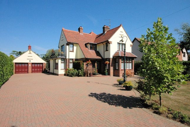 Thumbnail Detached house for sale in Grimston Road, South Wootton, King's Lynn