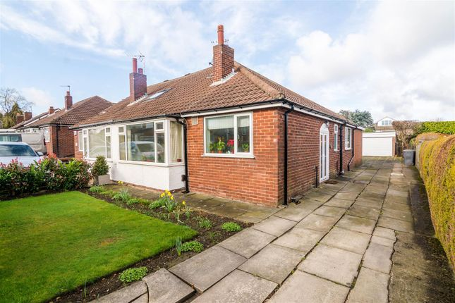 Thumbnail Semi-detached bungalow for sale in Peasehill Close, Rawdon, Leeds
