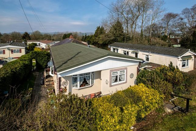 Thumbnail Mobile/park home for sale in 82 Sunny Haven, Howey, Llandrindod Wells