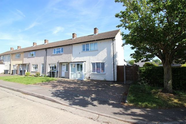 Thumbnail End terrace house for sale in Long Ley, Harlow