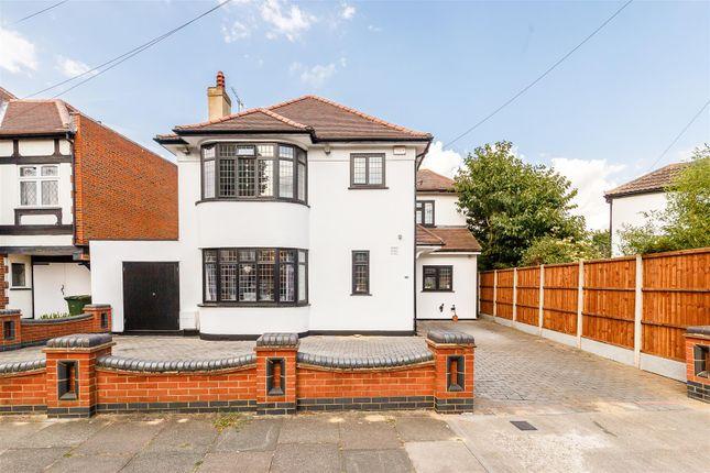 Thumbnail Detached house for sale in Wallenger Avenue, Gidea Park, Romford