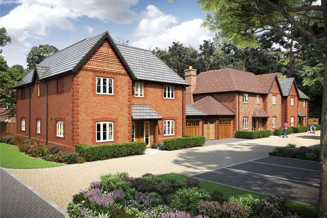 Thumbnail Detached house for sale in Brompton Gardens, London Road, Ascot, Berkshire