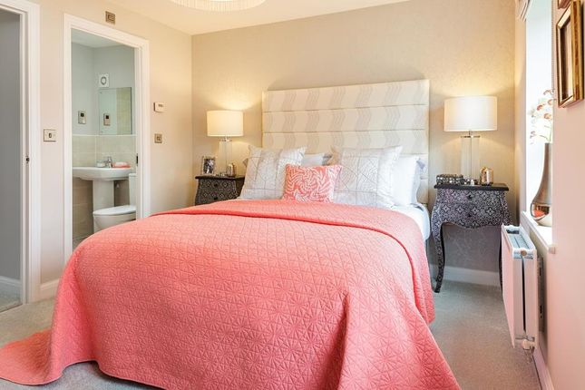 """Master Bedroom of """"Rochester"""" at Willowherb Road, Emersons Green, Bristol BS16"""