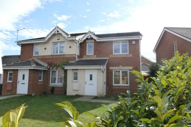 Thumbnail Semi-detached house to rent in Millmoor Road, Wombwell, Barnsley