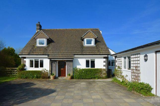 Thumbnail Detached house for sale in Cross Roads, Lewdown, Okehampton