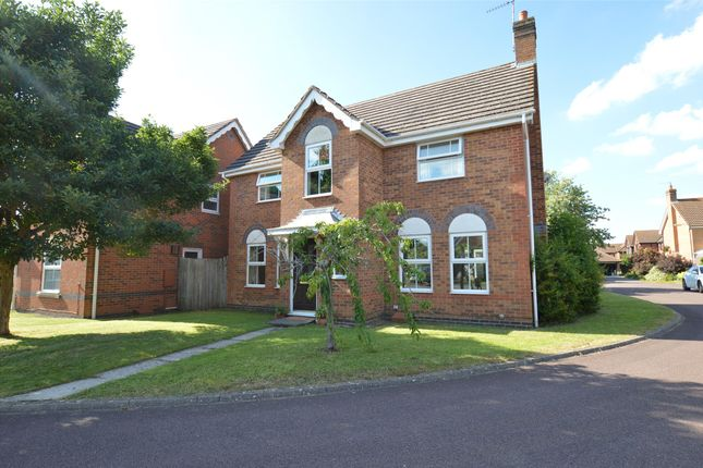 Thumbnail Detached house for sale in Roberts Close, Bishops Cleeve, Cheltenham, Gloucestershire