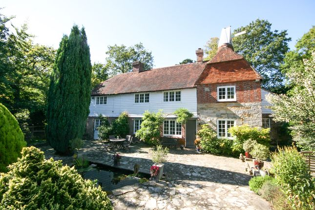 Thumbnail Detached house for sale in Newick Lane, Heathfield, East Sussex