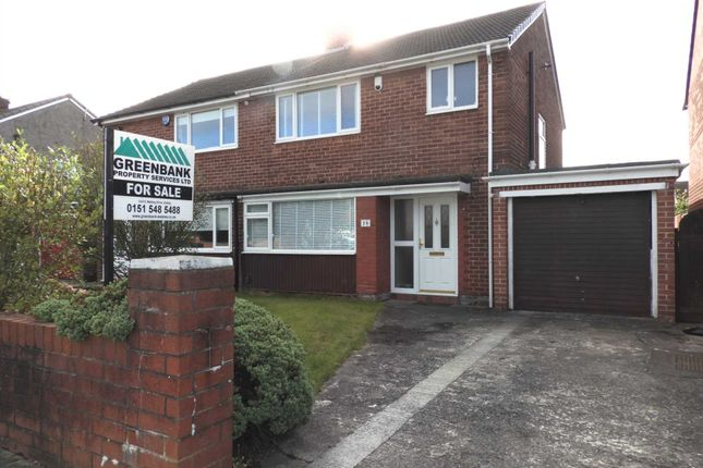 Thumbnail Semi-detached house for sale in Milbrook Crescent, Kirkby, Liverpool
