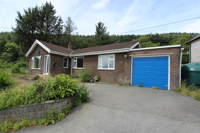 Thumbnail Bungalow to rent in Brynawelon, Llanafan, Aberystwyth