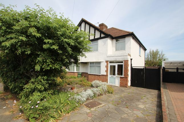 Thumbnail 3 bed semi-detached house for sale in Lakeswood Road, Petts Wood