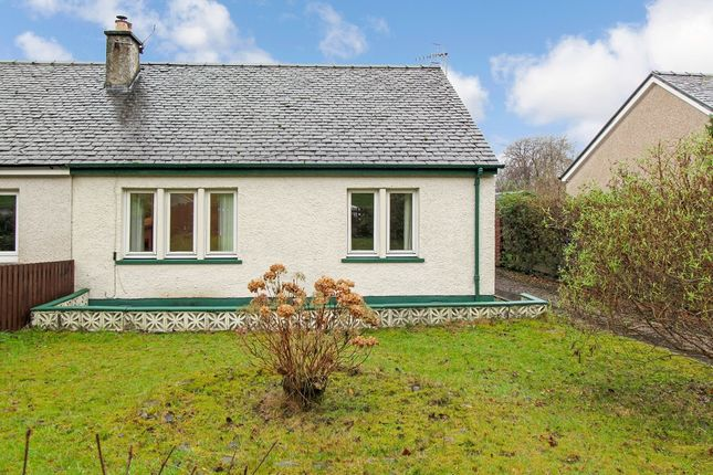Thumbnail Semi-detached bungalow for sale in Meadow Road, Dunbeg