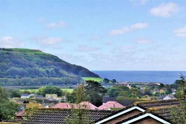 Sea View of Rowan Drive, Seaton, Devon EX12