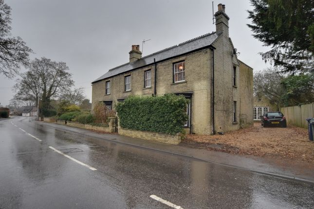 Thumbnail Semi-detached house for sale in High Street, Offord D'arcy, St. Neots, Cambridgeshire