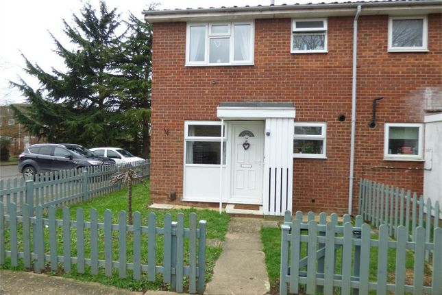 Thumbnail End terrace house for sale in Lavender Way, St. Ives, Huntingdon
