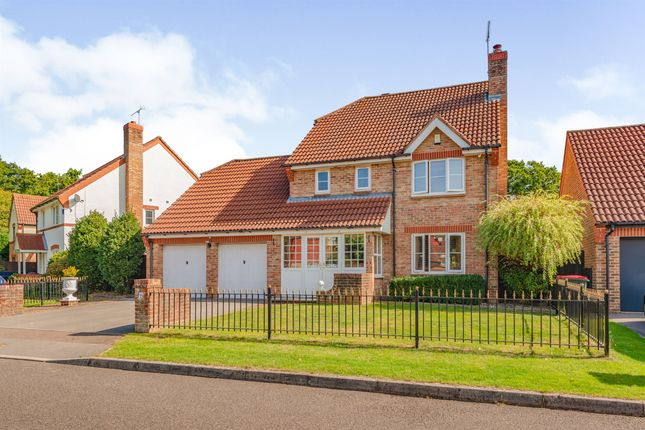 Thumbnail Detached house for sale in Dollis Close, Maidenbower, Crawley