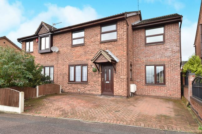 Thumbnail Semi-detached house for sale in Lynmouth Drive, Ilkeston
