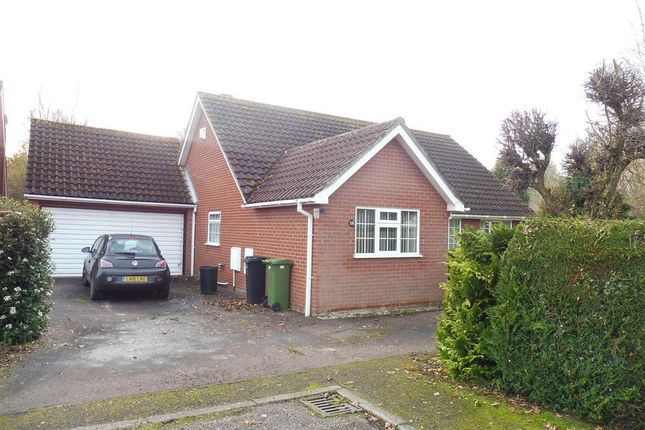 Thumbnail Detached bungalow to rent in Clements Close, Scole, Diss