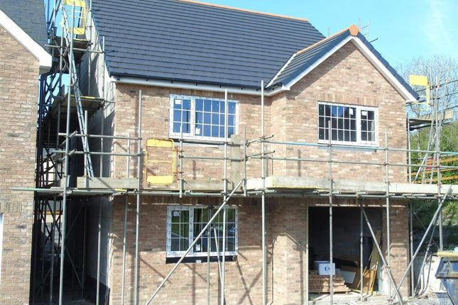 Thumbnail Detached house for sale in Clos Y Gat, Gorslas, Carmarthenshire