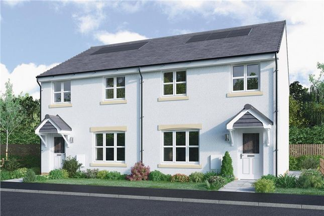 """Thumbnail Semi-detached house for sale in """"Meldrum"""" at Brotherton Avenue, Livingston"""