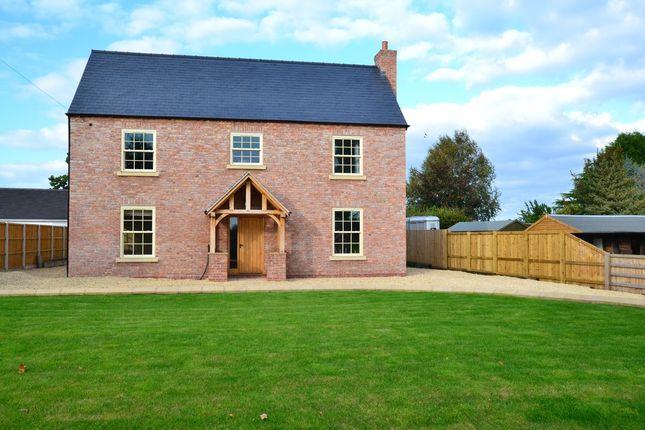 Thumbnail Detached house for sale in Station Road, Hodnet, Market Drayton