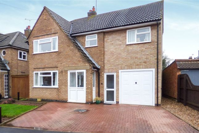 Thumbnail Detached house for sale in Keble Drive, Syston, Leicester, Leicestershire