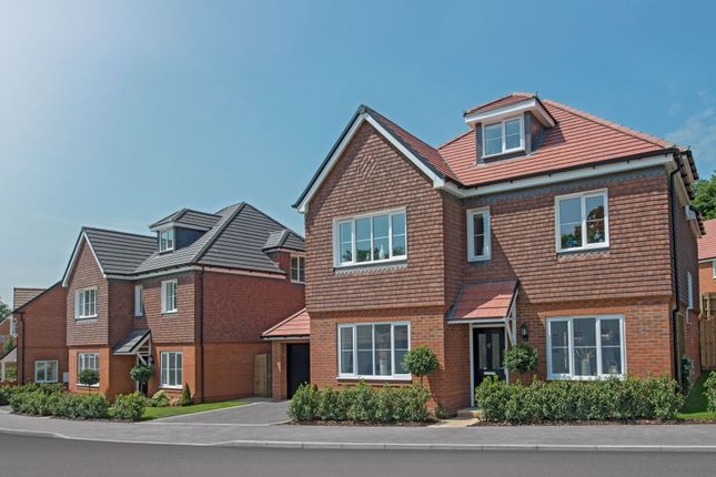 "Thumbnail Detached house for sale in ""The Bewick"" at Tile Barn Row, Woolton Hill, Newbury"