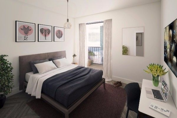 1 Bedroom Property for sale in X1 The Landmark Apartment, Salford, M5 4LE