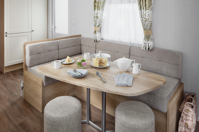 If You Thought The Holiday Home Lifestyle Wasn'T For You – Think Again! The Swift Burgundy Combines Luxury With Practicality