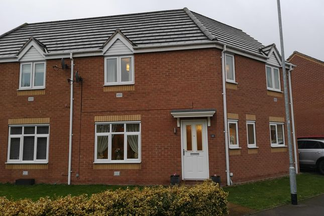 Thumbnail Semi-detached house to rent in Balata Way, Stretton, Burton-On-Trent