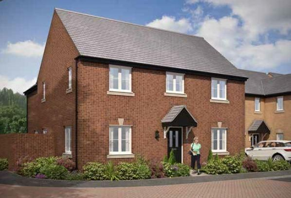 Thumbnail Detached house for sale in Bishops Grange, Wharf Road, Higham Ferrers, Rushden