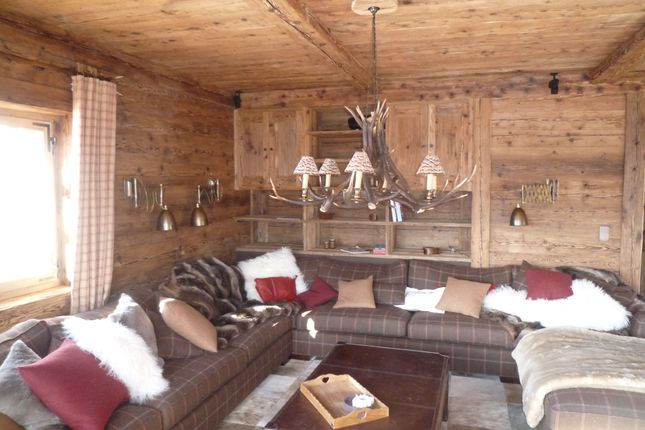 Thumbnail Chalet for sale in Crans Montana - Plans Mayens, Crans Sur Sierre, Valais, Switzerland