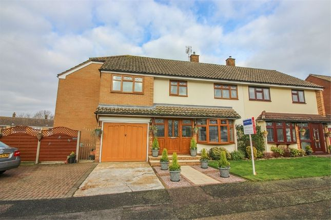 Thumbnail Semi-detached house for sale in Rundells, Harlow, Essex