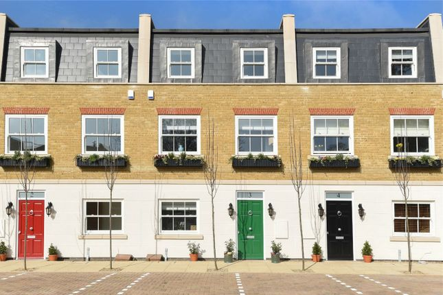 Thumbnail Terraced house for sale in Penny Farthing Mews, High Street, Hampton Hill