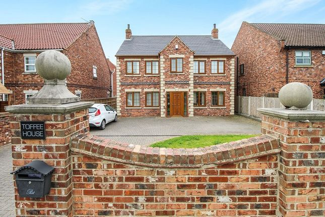 Thumbnail Detached house for sale in Trumfleet Lane, Moss, Doncaster