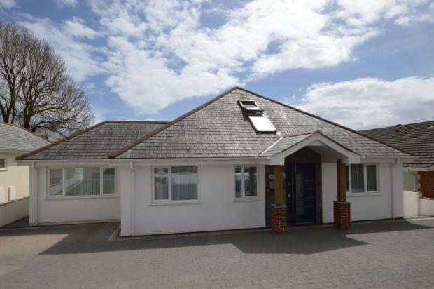 Thumbnail Detached bungalow for sale in Rocky Park Road, Plymouth, Devon