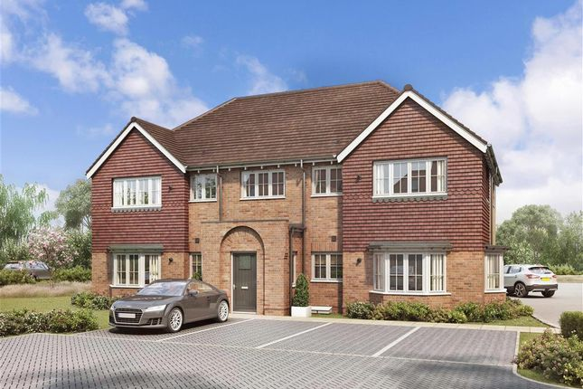 Thumbnail Flat for sale in Peters Village, Hall Road, Evabourne, Wouldham, Rochester, Kent