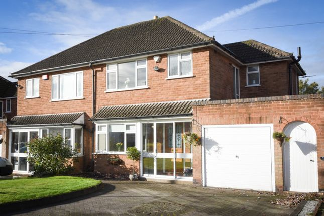 Thumbnail Semi-detached house for sale in Bedford Drive, Sutton Coldfield