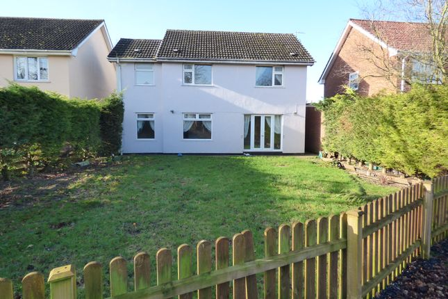 Thumbnail Detached house for sale in Station Road, Great Moulton, Norwich