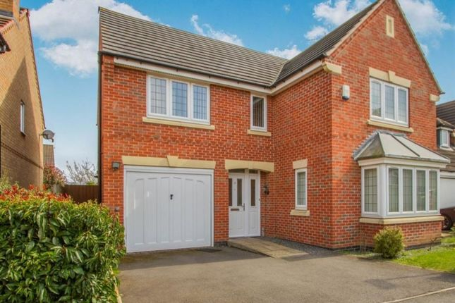 Thumbnail Detached house for sale in Billesdon Close, Leicester