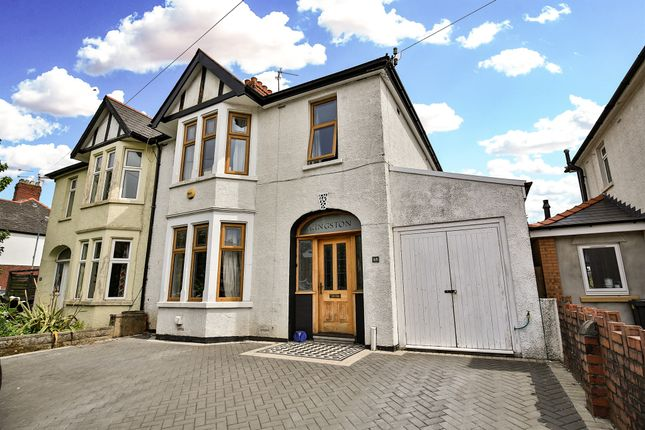 Thumbnail Semi-detached house for sale in Fidlas Road, Cyncoed, Cardiff