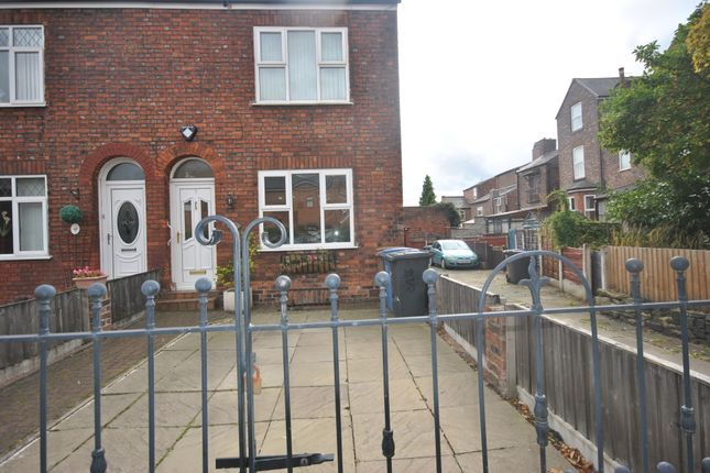 Thumbnail Terraced house to rent in Cromwell Road, Eccles Manchester