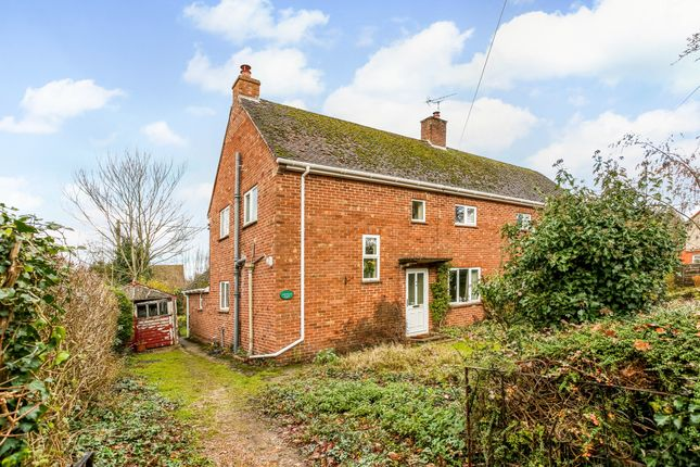Thumbnail Semi-detached house for sale in 45 Breachfield, Burghclere