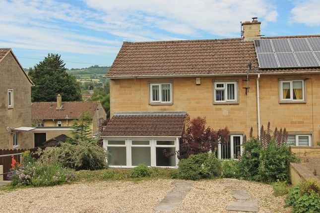 Thumbnail Semi-detached house to rent in Freeview Road, Twerton, Bath